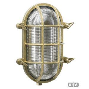 Muurlamp Nautic 1, brons