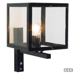 Buitenlamp Loosdrecht, zwart-0