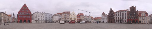 Greifswald town centre.