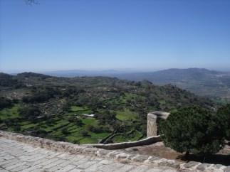 Ausblick Extremadura Urlaub