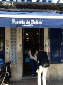 Eingang zum Café Pastéis de Belém