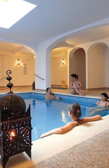 Wellness im Hotel Casa Baños de la Villa in Andalusien