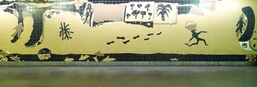 Kacheln U-Bahn Lissabon