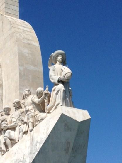 Entdeckerdenkmal Heinrich der Seefahrer Statue Lissabon