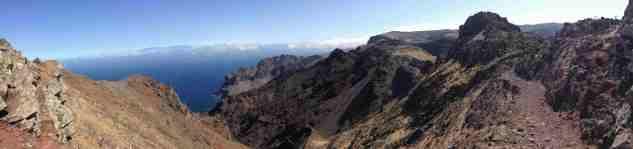 Herrlicher Panoramablick im Valle Gran Rey auf La Gomera