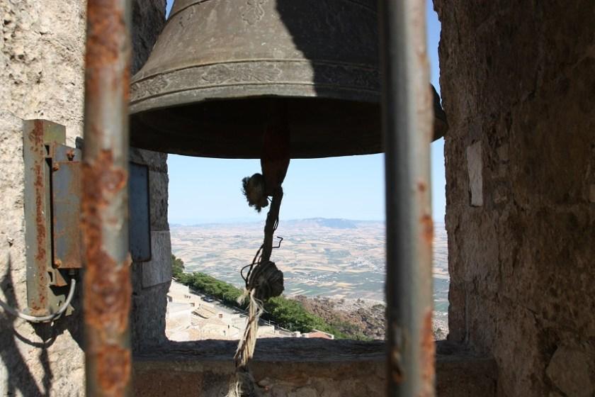 Glocke, Campanile Erice, Sizilien
