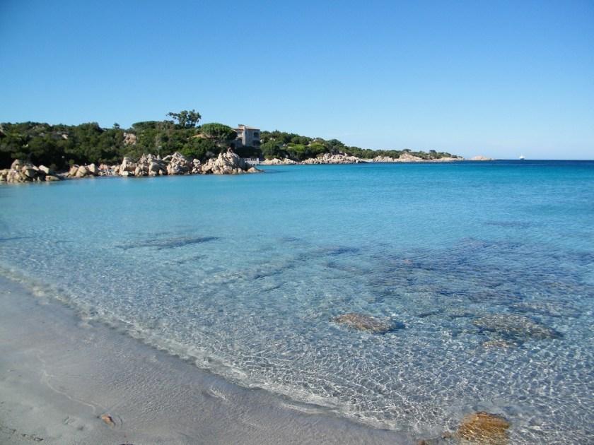 Strand Sardinien, Italien