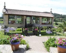 Alter galizischer Getreidespeicher Quinta San Amaro
