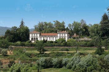 Blick auf den Parador Casa da Ínsua