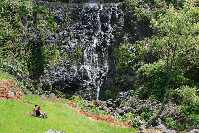 Wasserfall Azoren