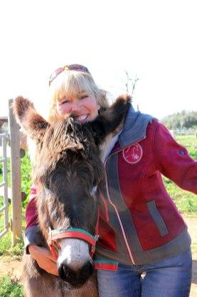 Roswitha und der Esel