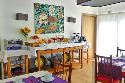 Quinta das Lavandas Frühstücksbuffet