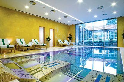 Pool des Casa Velho do Palheiro im Wellnessurlaub auf Madeira