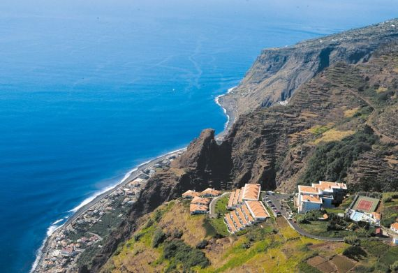 Blick auf das Hotel Jardim Atlântico bei OLIMAR Reisen