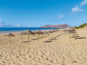 Heilender Sandstrand auf Porto Santo