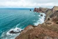 Küste auf Ponta de Sao Lourenco Madeira