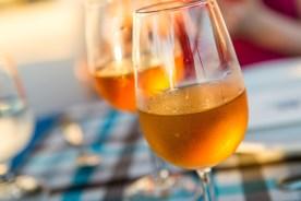 Weingläser auf Madeira