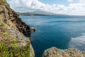 Küste Sao Miguel Azoren
