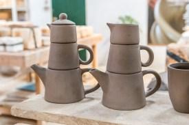 Keramik Teekannen Azoren Keramikfabrik