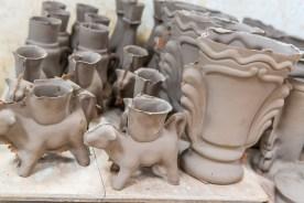 Keramikvasen Azoren