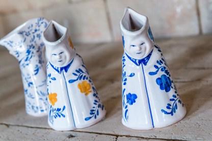 Bemalte keramikfiguren Azoren