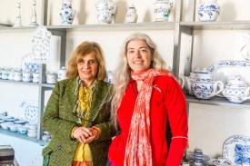 Frauen in Keramikfabrik Lagoa Azoren