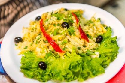 Salatteller Azoren Restaurant