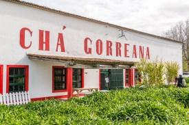 Cha Gorrena Teefabrik Azoren Gebäude