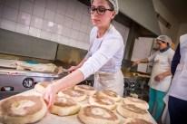 Bolo Levedo Bäckerei Bäckerin Azoren