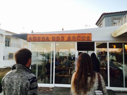 Adega dos Arcos Eingang