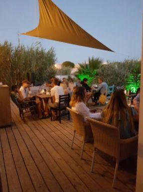 Restaurant Abendstimmung Algarve