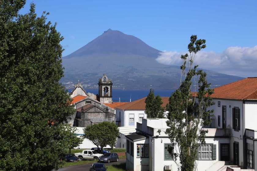 Blick Horta auf Pico