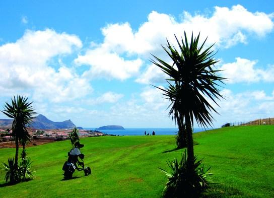 Golfplatz Meerblick Porto Santo
