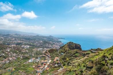 Madeira Ausblick Wandern Berg