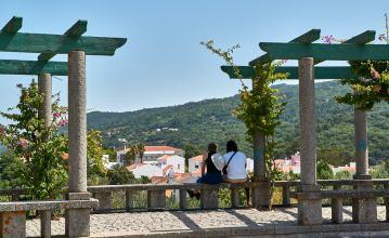 Aussichtspunkt Monchique Umland Algarve