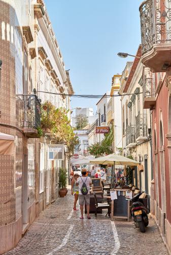 Fußgängerzone Algarve