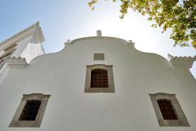Weißes Haus an der Algarve