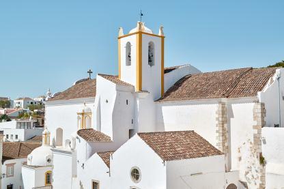 Kirche Häuser Algarve