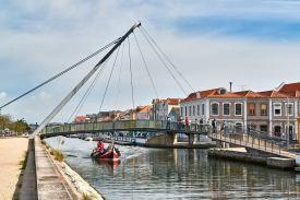 Brücke Stadt Aveiro Portugal