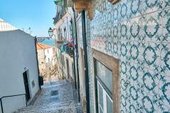 Fassaden Azulejos Kacheln Alfama