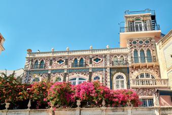 Haus und Blumen Belém