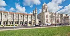 Hieronymus Kloster Außenansicht Belém