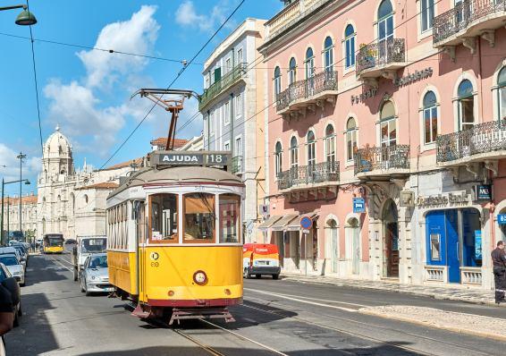 Straßenbahn Belém Lissabon