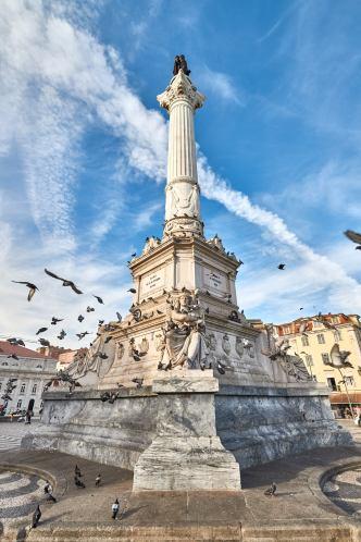 Statue Monument Lissabon