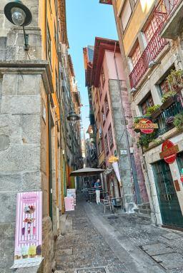 Gasse in Portos Altstadt