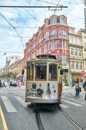 Tram Stadt Porto Portugal