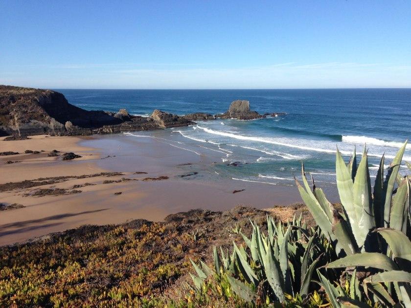 Praia da Zambujeira do Mar an der Rota Vicentina