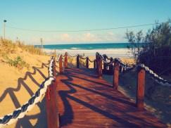 Steg zum Strand Porto Santo