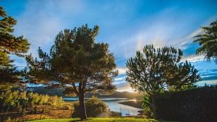 Garten und Seeblick B Bou Hotel La Viñuela & Spa