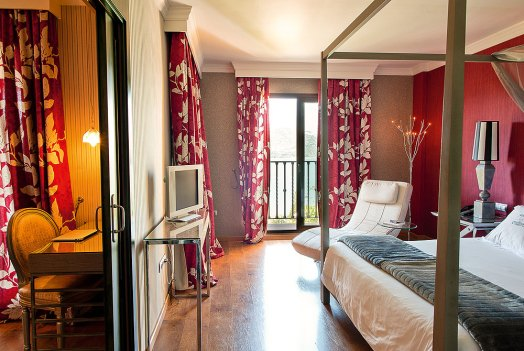 Junior Suite des B Bou Hotel La Viñuela & Spa
